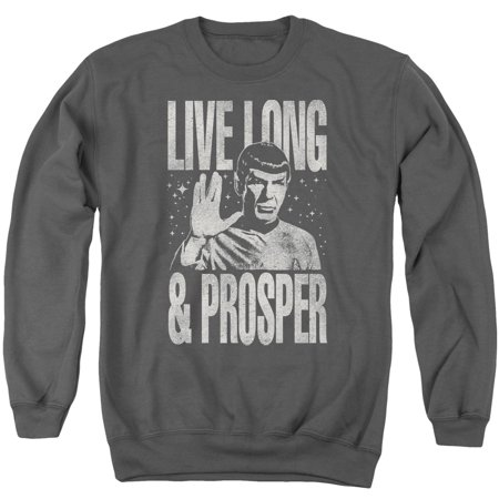 Star Trek 1960's Sci-Fi TV Series Spock Live Long And Prosper Crew