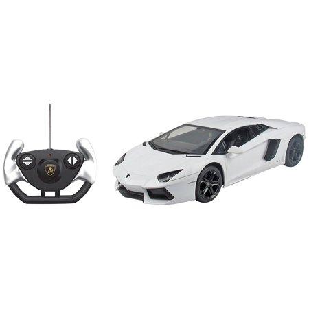 Radio Control Model Car Licensed Rc Lamborghini Aventador Lp700 4 R C Car  1 14 Scale  White