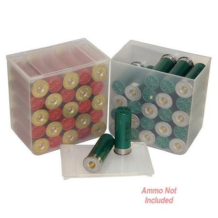 Mtm 25 Round Shotshell Box Sold As Set Of 4 Clear - image 1 of 1