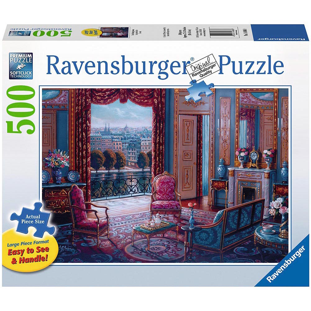 Sitting Room 500 Piece Puzzle