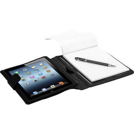 Targus THZ187US Black Faux Leather Notepad Folio Case For iPad Air
