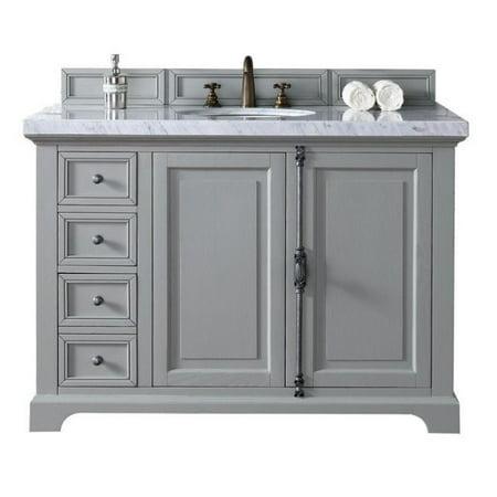 James Martin Providence 48 Single Bathroom Vanity In Gray No Top
