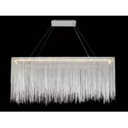 Avenue Lighting HF1201-CH Fountain Ave Chrome Rectangle Hanging Chandelier