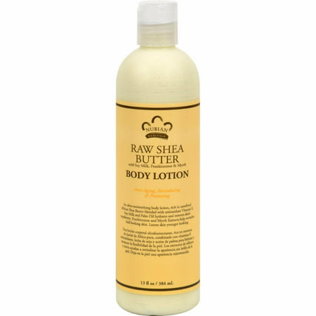 - Nubian Heritage Lotion Raw Shea And Myrrh - 13 Oz