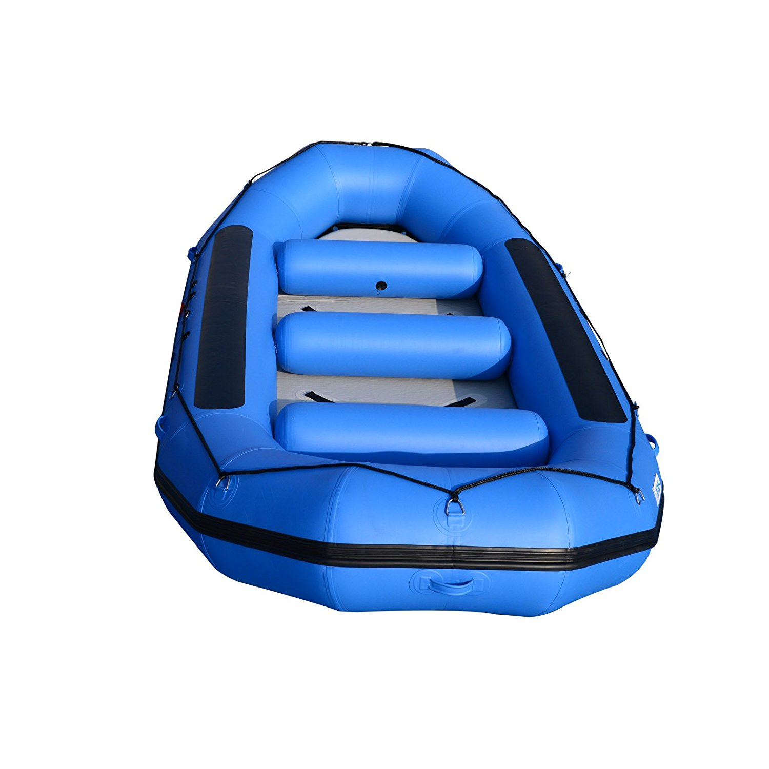 BRIS 15Ft Inflatable White Water River Raft Inflatable Boat Floating Tubes Pontoon by BRIS