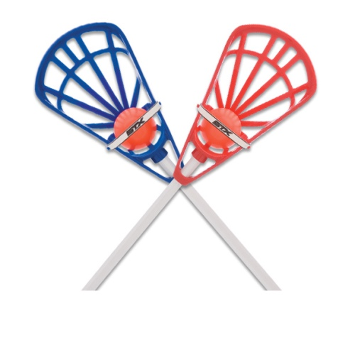 Lacrosse Training Game Set By STX - Blue/Red