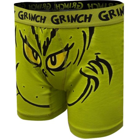 Dr. Seuss The Grinch Mean One Boxer Brief