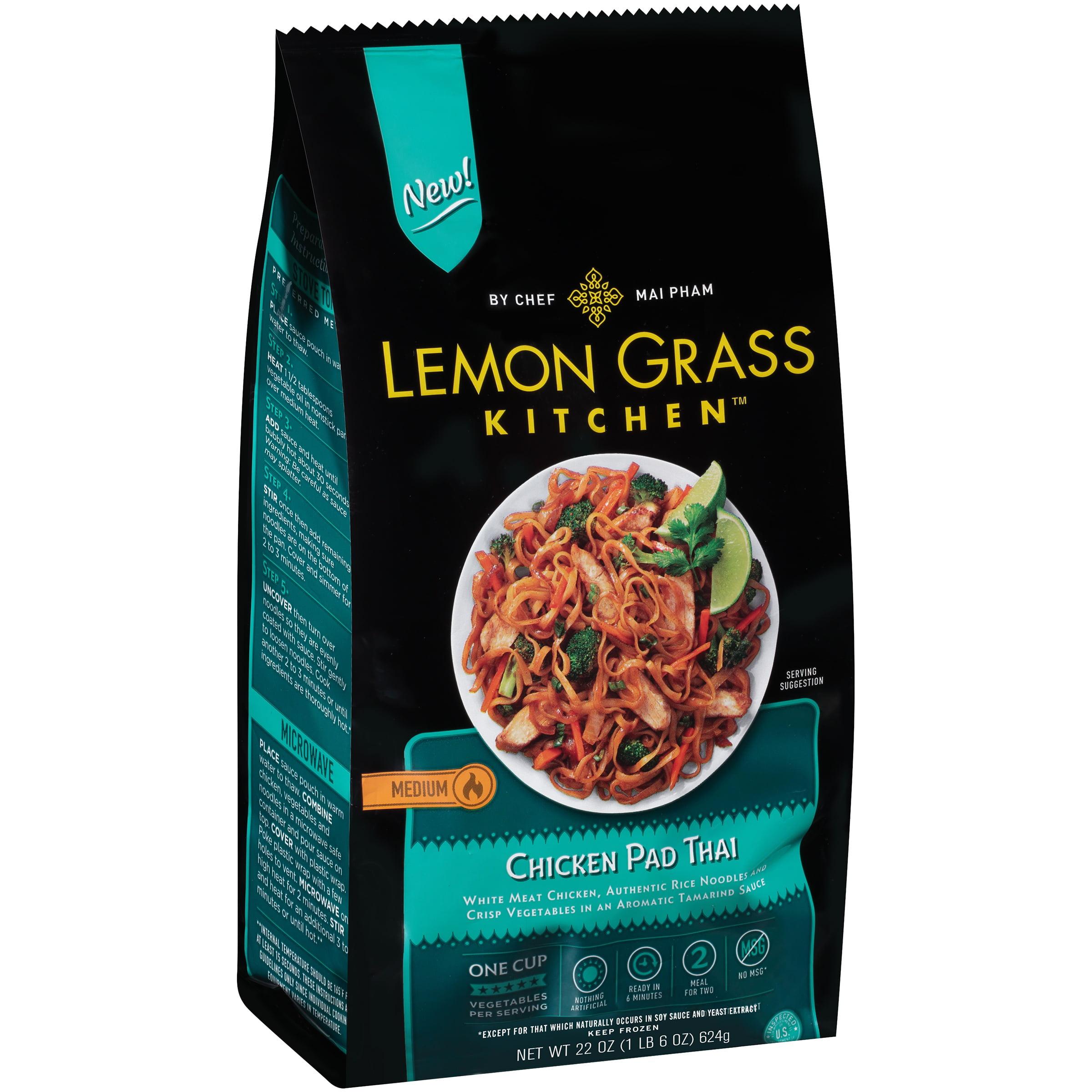 beautiful Lemon Grass Walmart Part - 11: Lemon Grass Kitchen Chicken Pad Thai, 22 oz