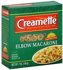 12 PACKS : Creamette Elbow Macaroni 12 - 7 Ounce Packages