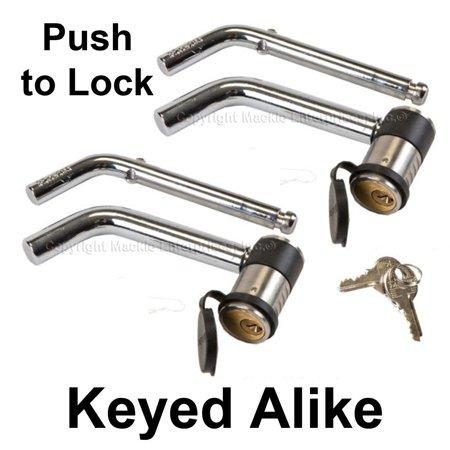 Master Lock - 2866KA-2 - Keyed Alike Trailer Hitch