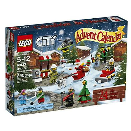 Lego City Town 60133 Advent Calendar Building Kit  290 Piece