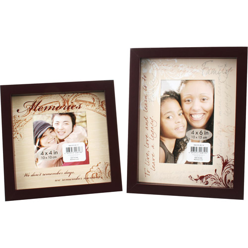 Better Homes and Gardens 2pk Shadow Box Frames, Black