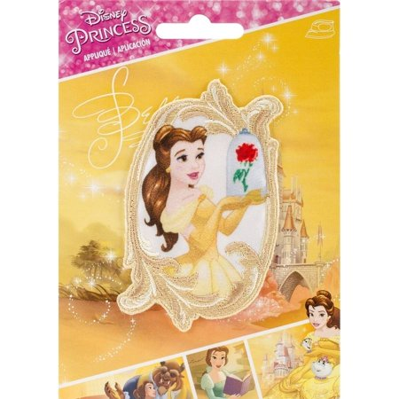 Disney Princess Iron-On Applique, Belle's - Disney Ribbon