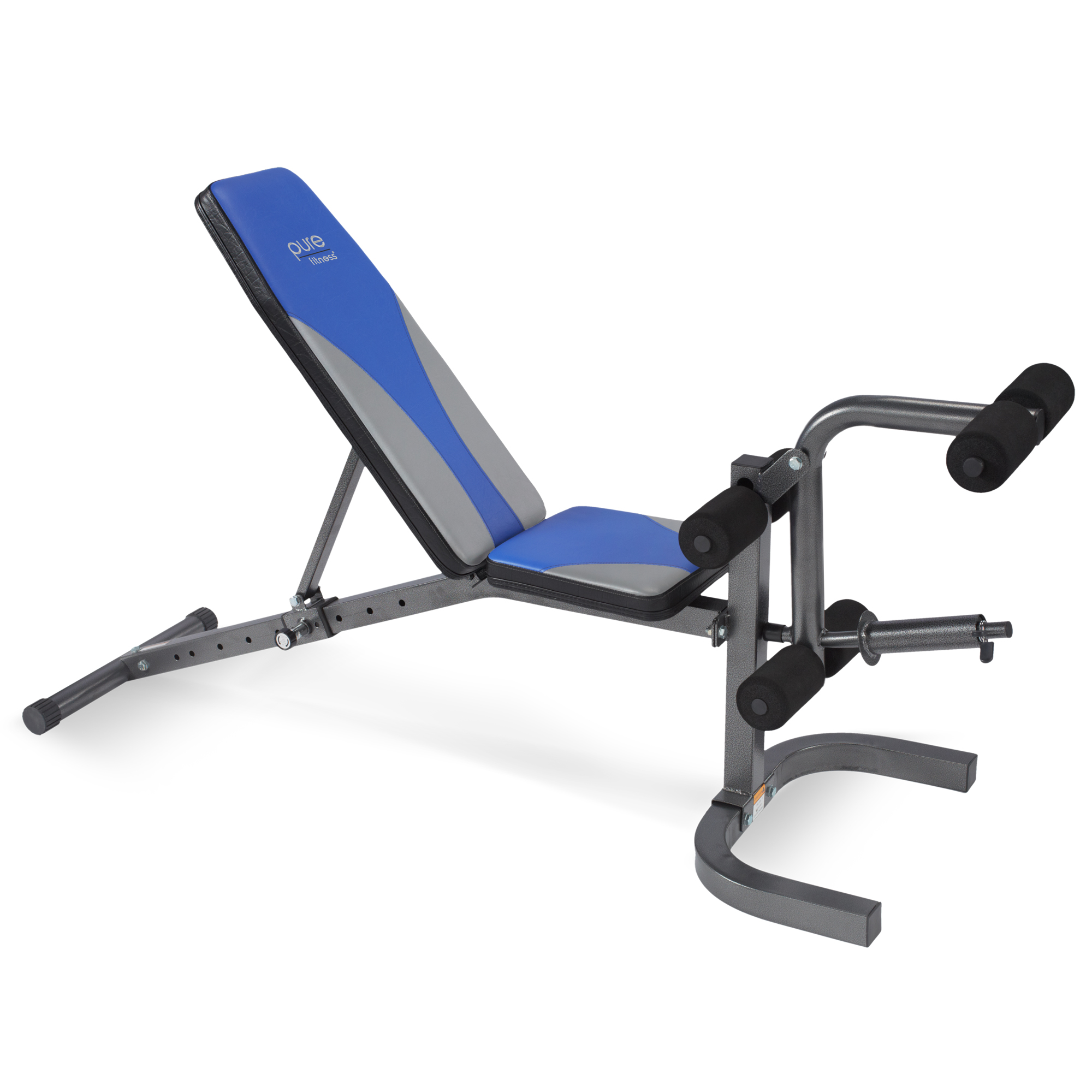 Pure Fitness Adjustable FID Weight Bench Flat/Incline/Decline