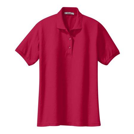 ec36f164d Mafoose - Mafoose Womens Silk Touch Classic Polo Shirt Red 5XL - Walmart.com