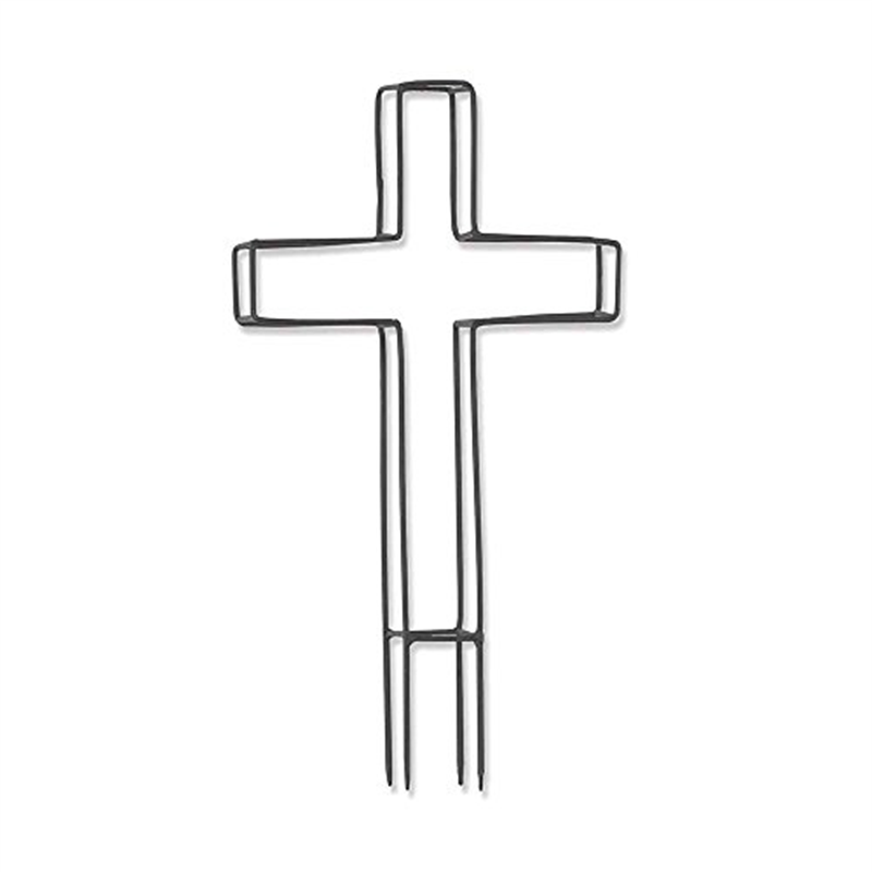 "Cross Trellis Ground Stake - 15""H"