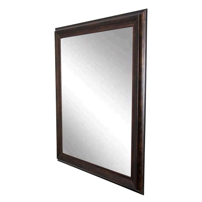 American Made Vintage Copper Hill Framed Vanity Wall Mirror 31 x 35 in.  BM031M2 - image 1 de 1