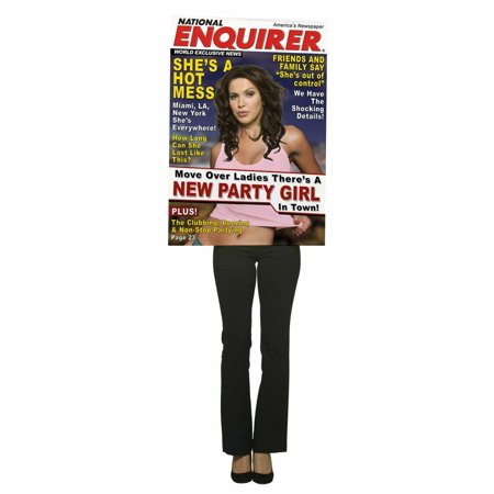 National Enquirer Magazine Cover Costume Adult Female Costume National Womens Bag
