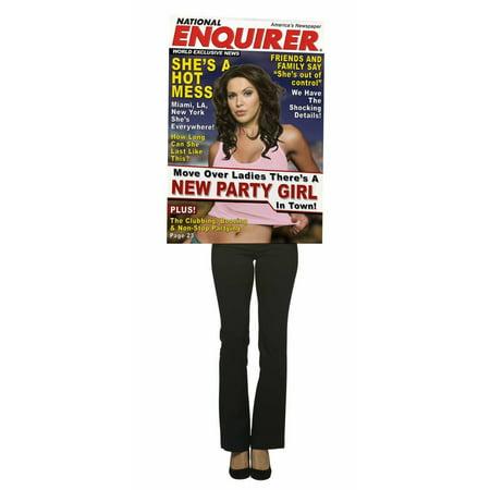 National Enquirer Magazine Cover Costume Adult (C'n'c Costume National Handbags)