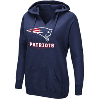 Product Image Women s Majestic Navy New England Patriots Shape It Up  Pullover Hoodie 58917a6d64d