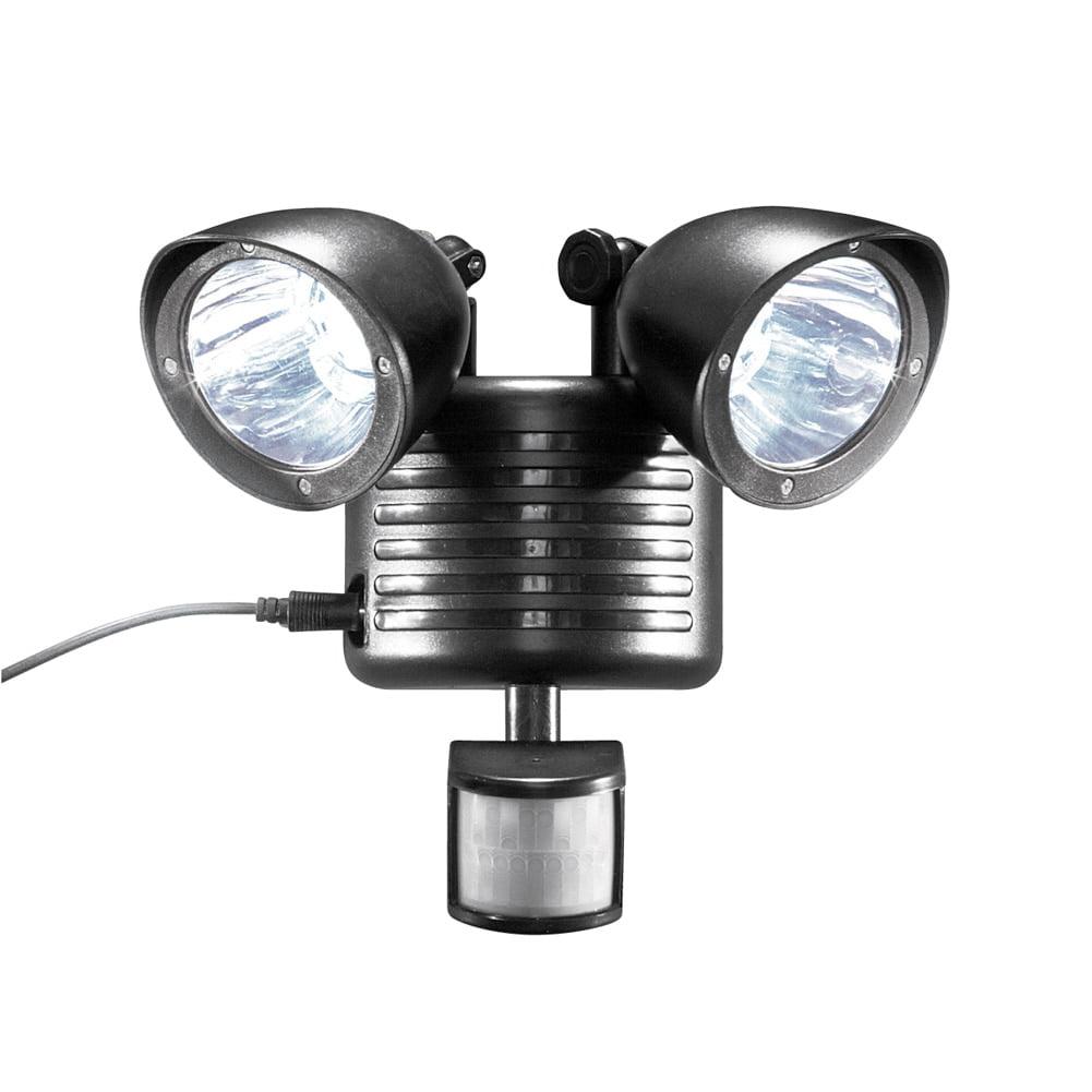 Solar Motion Sensor Light, Black by Collections Etc