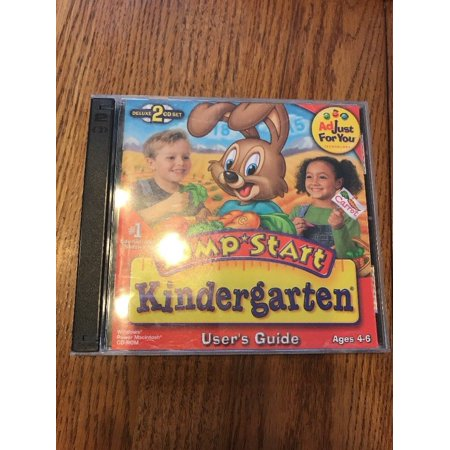 JUMPSTART KINDERGARTEN CD-ROM computer game Ages 4-6 2CD SET SHIPS N 24h - Kindergarten Halloween Computer Games