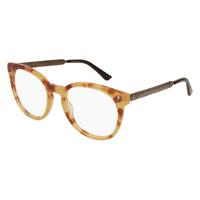 d309a2463a9 Product Image Eyeglasses Gucci GG 0219 O- 008 HAVANA   GOLD