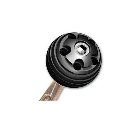 Longacre 52-22607 Billet Alum Mini Shifter Ball, 3/8-16 Thread