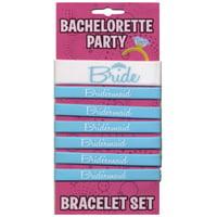 Bachelorette Party Bride Bracelet Set