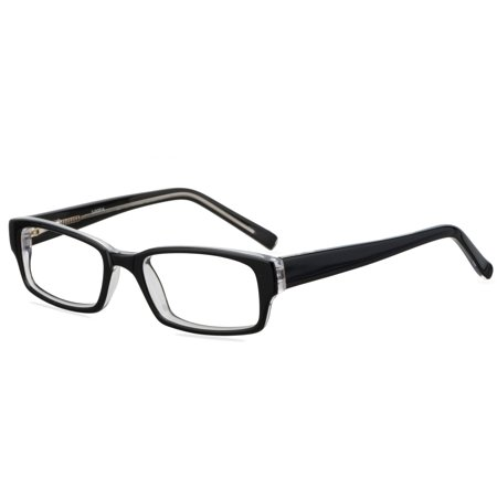 Contour Youths Prescription Glasses, FM12026 Black/Crystal (Prescription Glasses Sports)