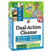 Dual-Action Cleanse Tablets 2-Bottles 150 Tablets (Pack of 2)