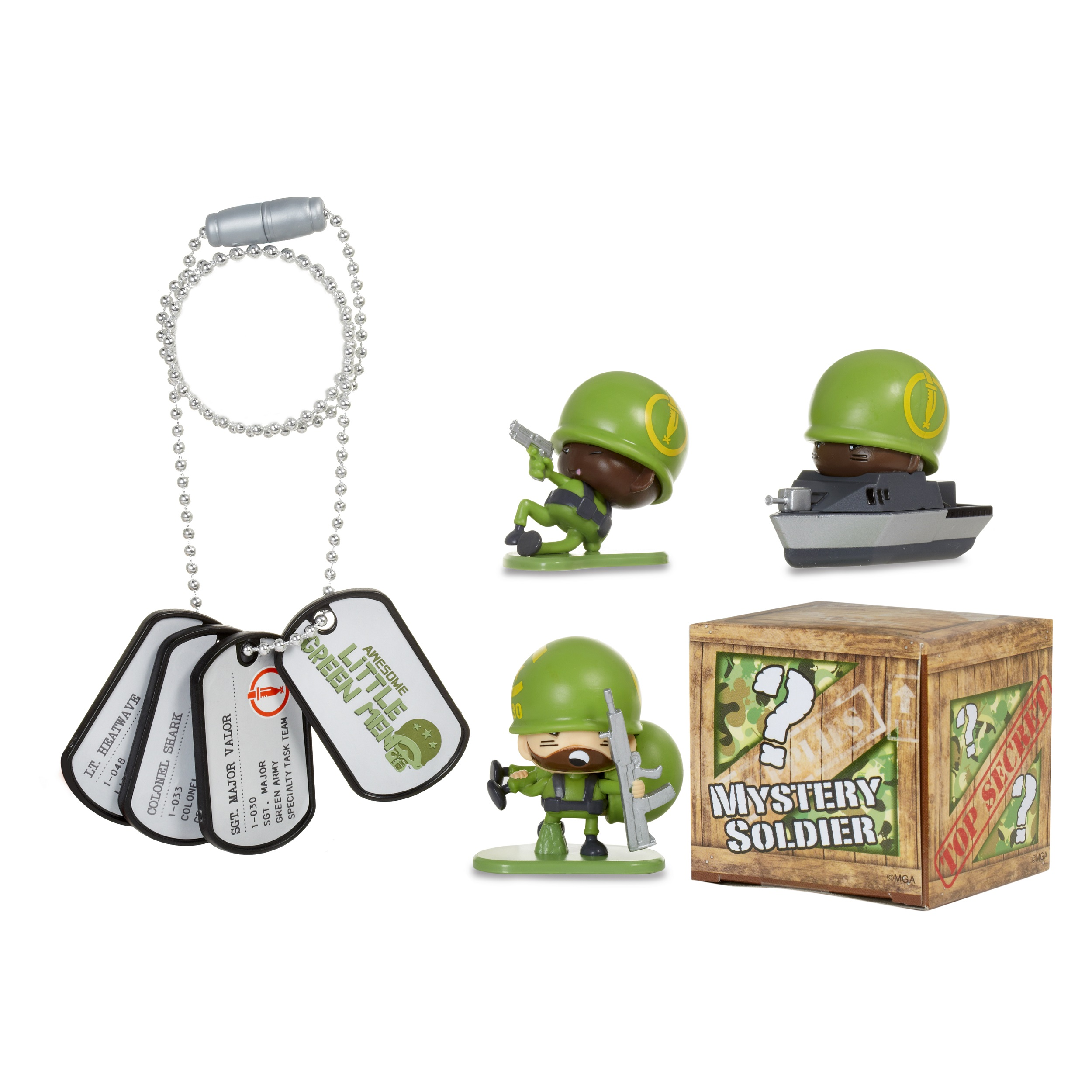 Awesome Little Green Men Series 1 Starter Pack - Specialty Task Team