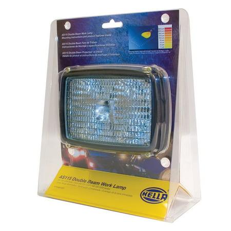 Beam Long Range - HELLA 006991651 AS 115 Series 12V Dual Beam Long Range Halogen Work Lamp