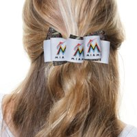 Miami Marlins Women's Mary Loop with Mossy Oak Hair Bow - No Size