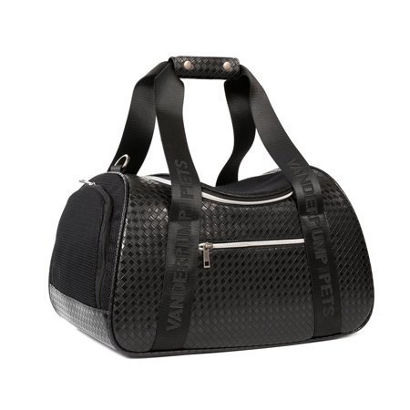Vanderpump Pets Graphite Duffle Pet Carrier