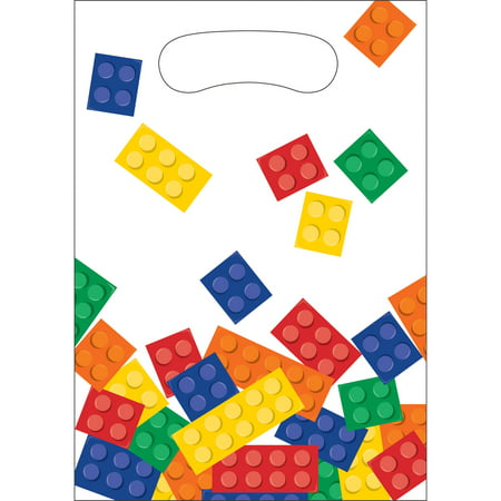 Block Party Favor Bags, 8 pk