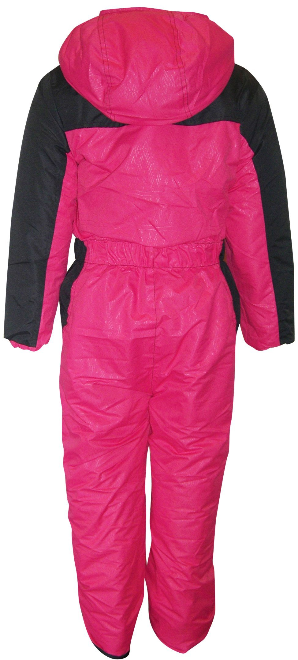 2337e4c99436 Pulse Toddler Girls One Piece Snowsuit Coveralls Insulated 2T 3T 4T ...