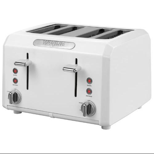 Waring Cool-touch Toaster - White - 1800 W - Toast - White (ctt400w)