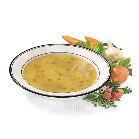 12 PACKS : Campbells Condensed Split Pea Soup with Ham and Bacon - 52
