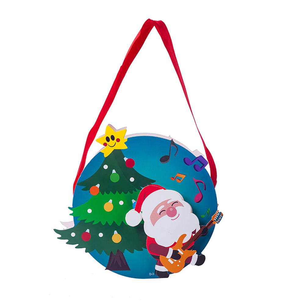 Walmart Home Store: Santa Xmas Christmas Gift Bag Candy Merry Christmas Pocket