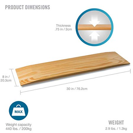 Ultra Slide Board (Transfer Board 440 Lbs Maple Plywood)