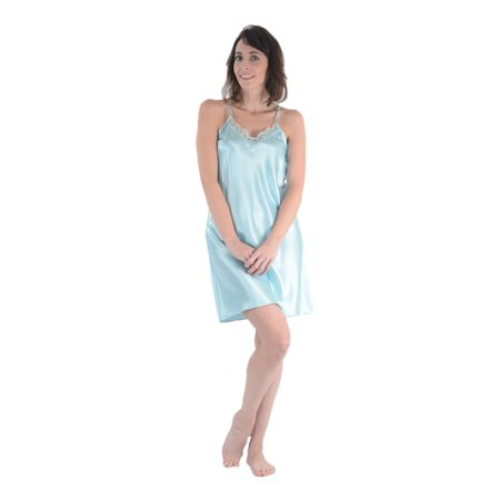 Up2date Fashion's Women's Chemise with Lace