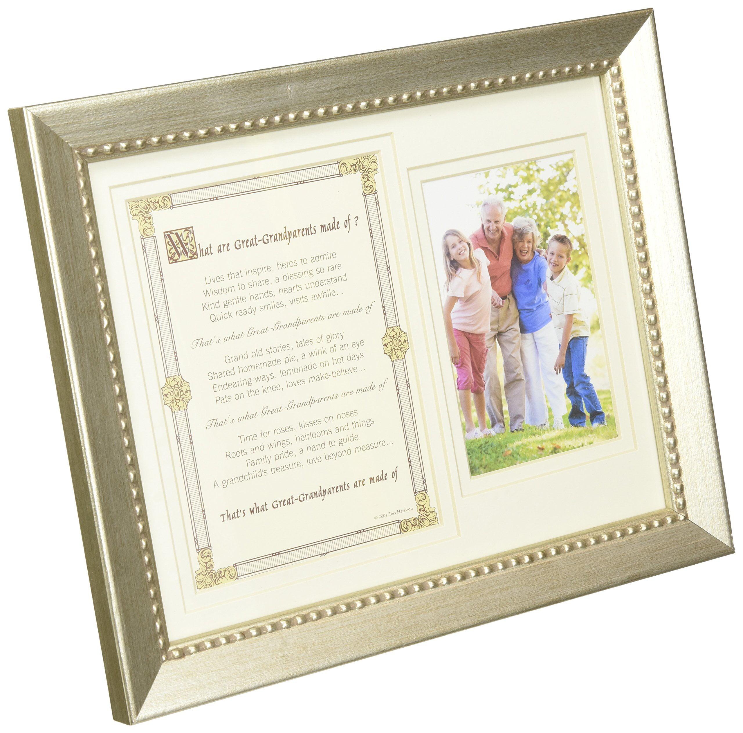 The Grandparent Gift Co, Great-Grandparents Photo Frame 8 x 10