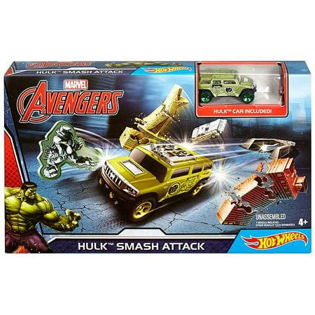 Marvel Hot Wheels Hulk Smash Attack