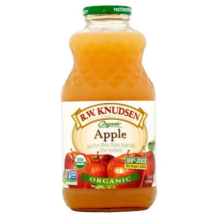 R W  Knudsen Organic 100  Fruit Juice  Apple  32 Fl Oz  1 Count