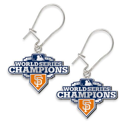 MLB - San Francisco Giants 2012 World Series Champions Dangle Earrings