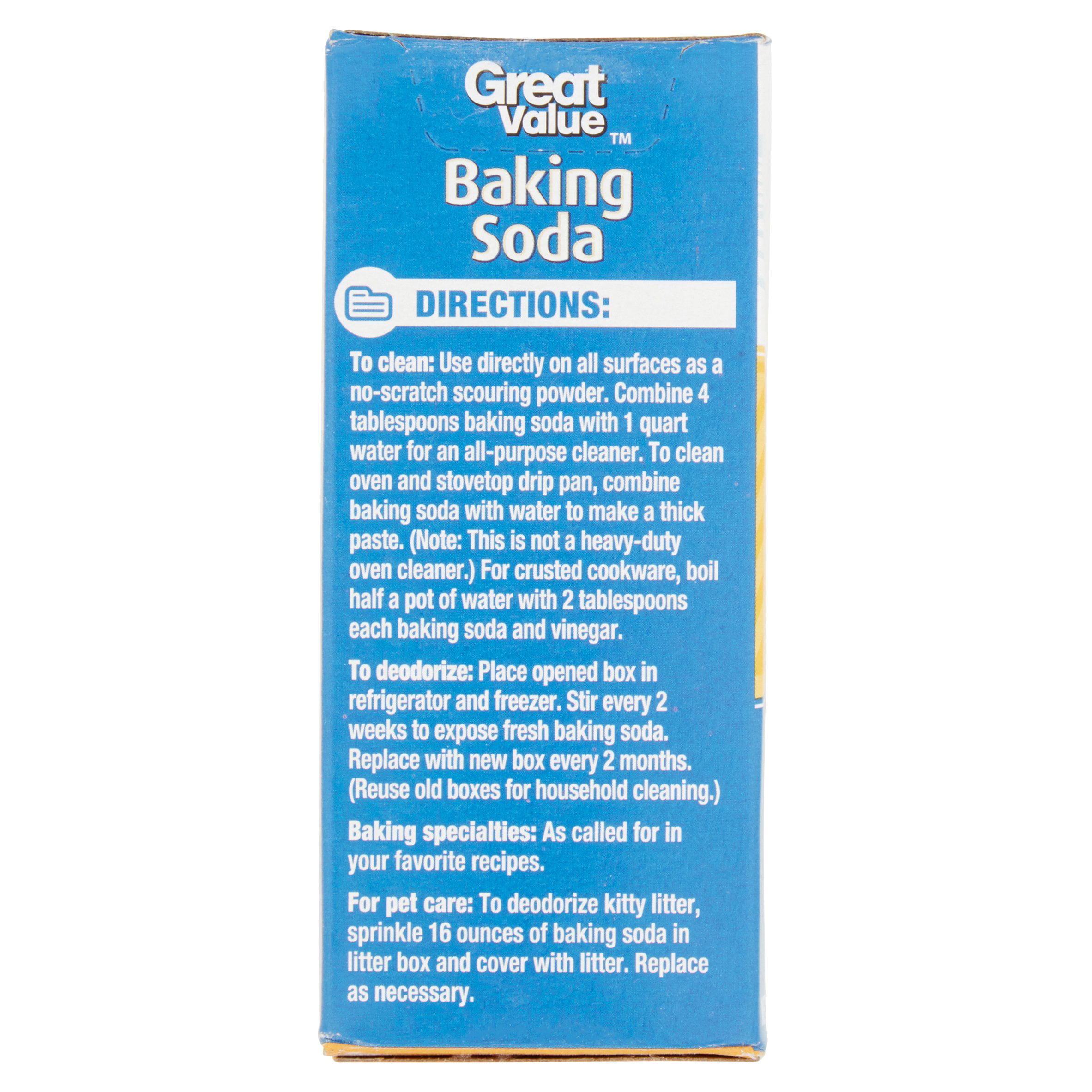 Great Value Baking Soda, 16 oz - Walmart com