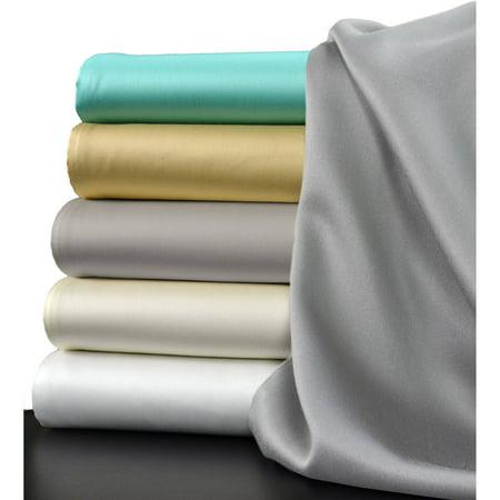 Set White Anklet - Brielle Eucalyptus Sateen Sheet Set