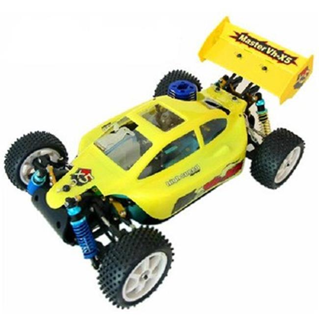 Azimport GCX5 Yellow RC 35-45 mph Nitro Buggy Engine 0.18...