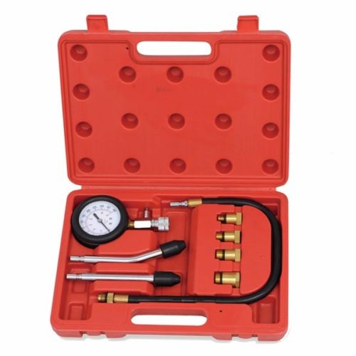 GHP 8-Piece Gasoline Engines Spark Plug Compression Tester Kit w Case …
